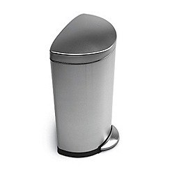 Simplehuman - Brushed stainless steel 30L pedal bin