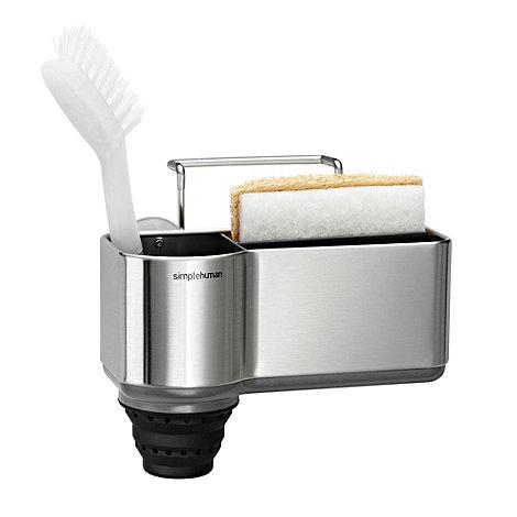Simplehuman - Steel sink caddy