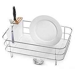 Simplehuman - Plastic slim dish rack