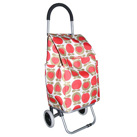 Typhoon - Red large apples shopping trolley
