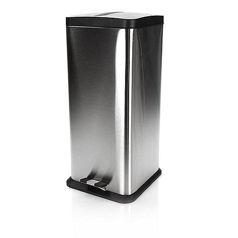 Sabichi - 30 litre stainless steel pedal bin