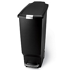 Simplehuman - Black Simple Human 25L step bin