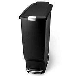 Simplehuman - Black 25L step bin