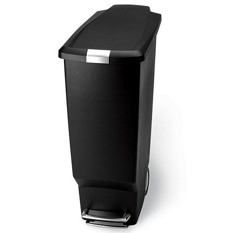 Simplehuman - Black Simple Human 25L step bin