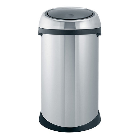 Brabantia - 50 litre touch bin matt steel fingerprint proof