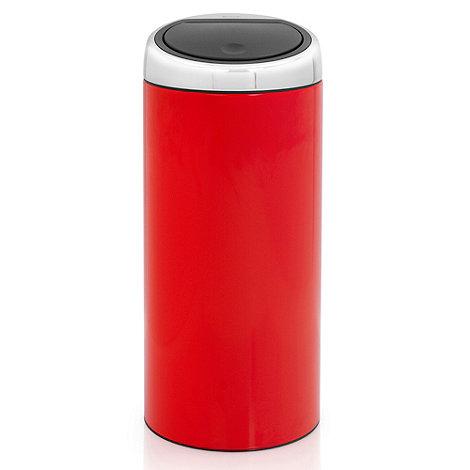 Brabantia - Red 30 litre touch bin lipstick