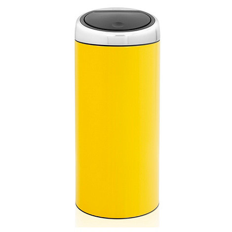 Brabantia - Lemon yellow 30 litre touch bin