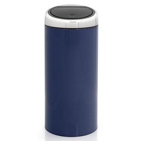 Brabantia - Cobalt blue 30 litre touch bin