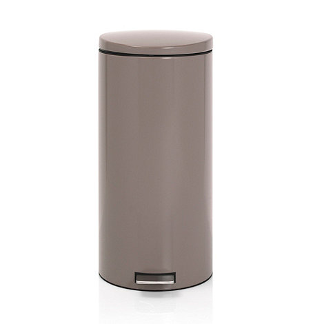 Brabantia - Taupe 30 litre pedal bin