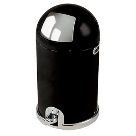 Typhoon - +Capsule+ black 40L pedal bin
