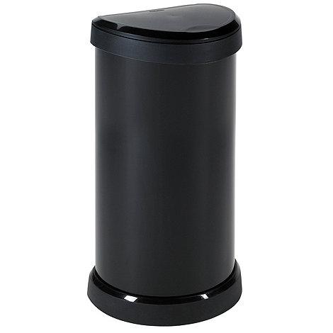Curver - Black 40 liter bin