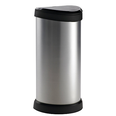 Curver - Silver 40 liter bin