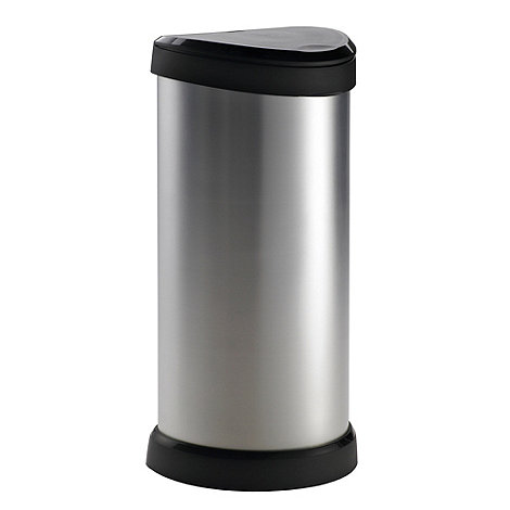 Curver - Silver 40 litre bin