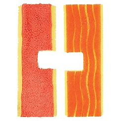 OXO - Good Grips double sided orange flip mop refill