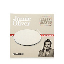 Jamie Oliver - Large 'happy days!' pizza stone