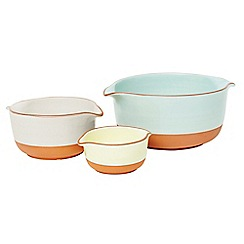 Jamie Oliver - Terracotta nested serving bowls