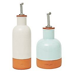 Jamie Oliver - Terracotta oil & vinegar drizzlers
