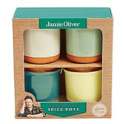Jamie Oliver - Set of 4 spice jars