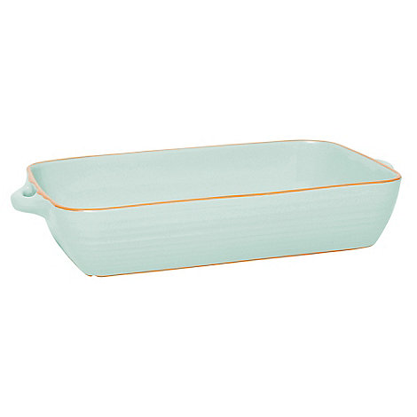 Jamie Oliver - Pale green terracotta large baking dish