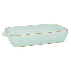Jamie Oliver - Extra large terracotta baking dish in harbour blue