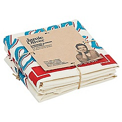 Jamie Oliver - Just like the cook' set of 3 tea towels