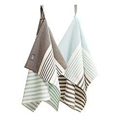 Jamie Oliver - Premium stripe set of 2 tea towels