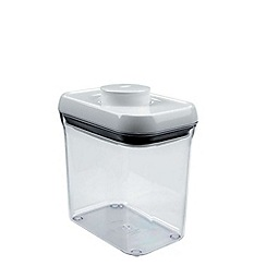 OXO - 1.4ltr rectangular 'Pop' container