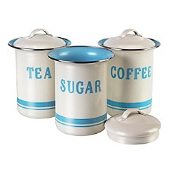 Jamie Oliver - Set of three storage pots