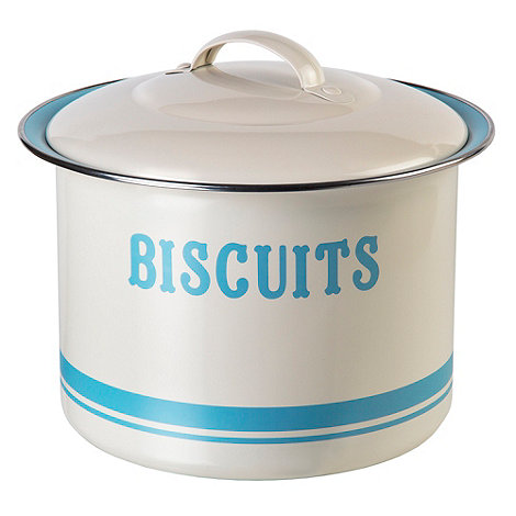 Jamie Oliver - Carbon steel biscuit barrel
