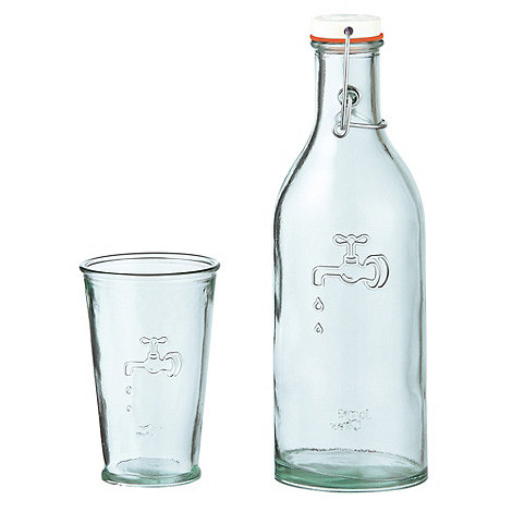 Jamie Oliver - Bottle and four glasses set