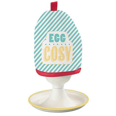 Jamie Oliver - Enamel egg cups and cosies