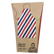 Jamie Oliver blue 'Textiles' striped apron