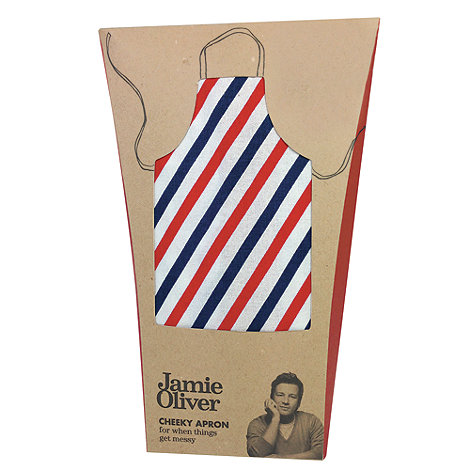 Jamie Oliver - Blue +textiles+ striped apron