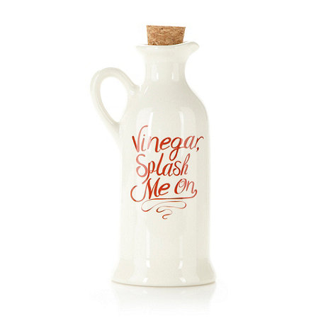 Debenhams - Ceramic vinegar drizzler bottle