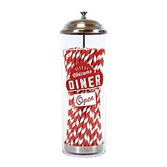Jamie Oliver - Coloured straw dispenser