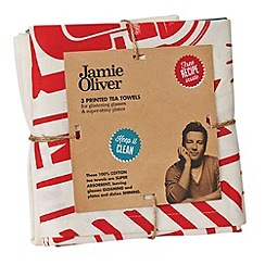 Jamie Oliver - Set of 3 tea towels