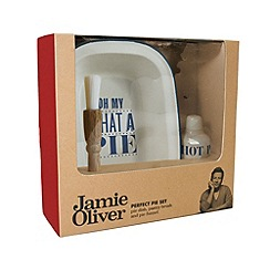 Jamie Oliver - Pie dish with brush & funnel