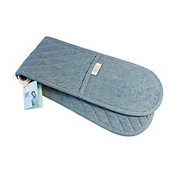 Jamie Oliver - blue denim oven glove