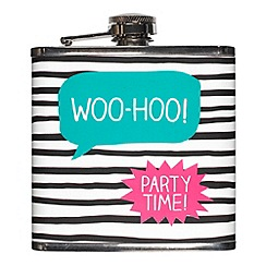 Happy Jackson - Woo-Hoo Hip Flask
