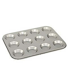Home Collection Basics - Metal 12 cup bun tray