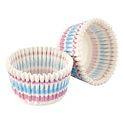 Tala - Multi-coloured striped print muffin cases