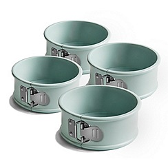 Jamie Oliver - Set of 4 mini round springforms