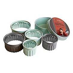 Jamie Oliver - 5 piece round fluted cookie cutters