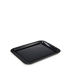 Home Collection - Black vitreous enamel oven tray