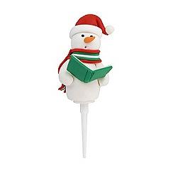 Tala - Christmas snowman cake topper