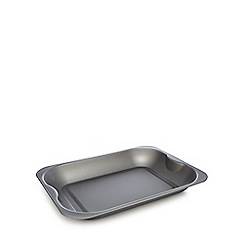 Home Collection Basics - Grey non-stick roaster tray