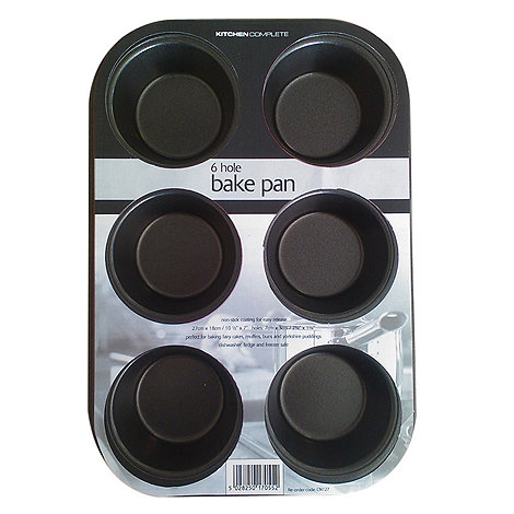 Kitchencraft - Non stick 6 cup muffin tin