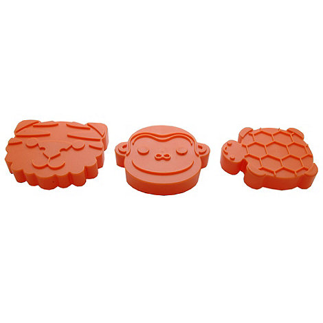 Typhoon - Animal Cookie Cutters Orange