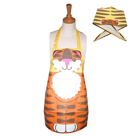 Typhoon - Terry Tiger Apron Set Orange