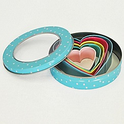 Fanci - Nesting heart cookie cutters